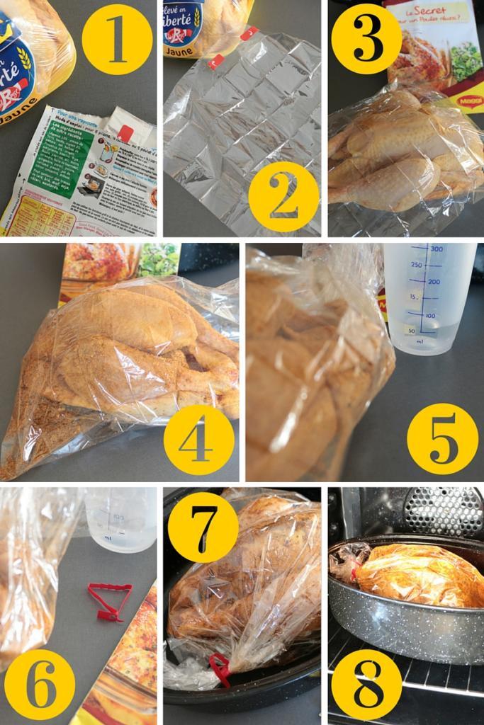 étape-préparation-poulet-papillote-herbes-de-provence-maggi