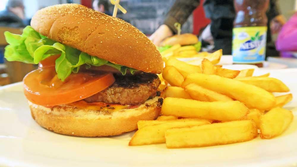 A la bonne heure   Burger frites