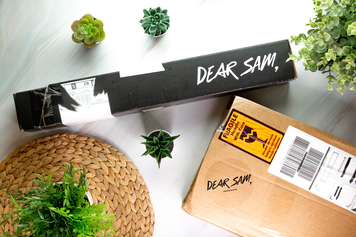 dear sam mon grain de folie cartons