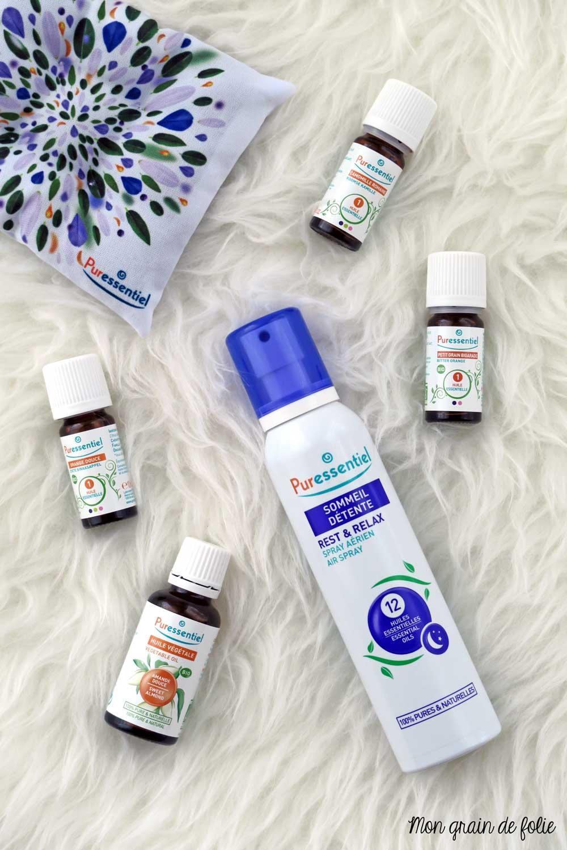 spray sommeil detente puressentiel